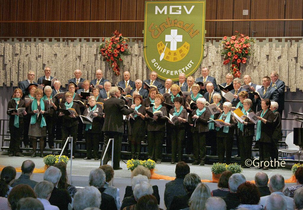 Konzert MGV Eintracht in der Aula